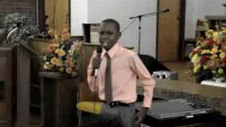 12 yr old Meleke Singing Going Up Yonder