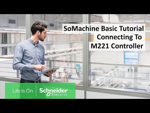 How To Establish A Connection To Modicon M221 In SoMachine Basic? | Schneider Electric