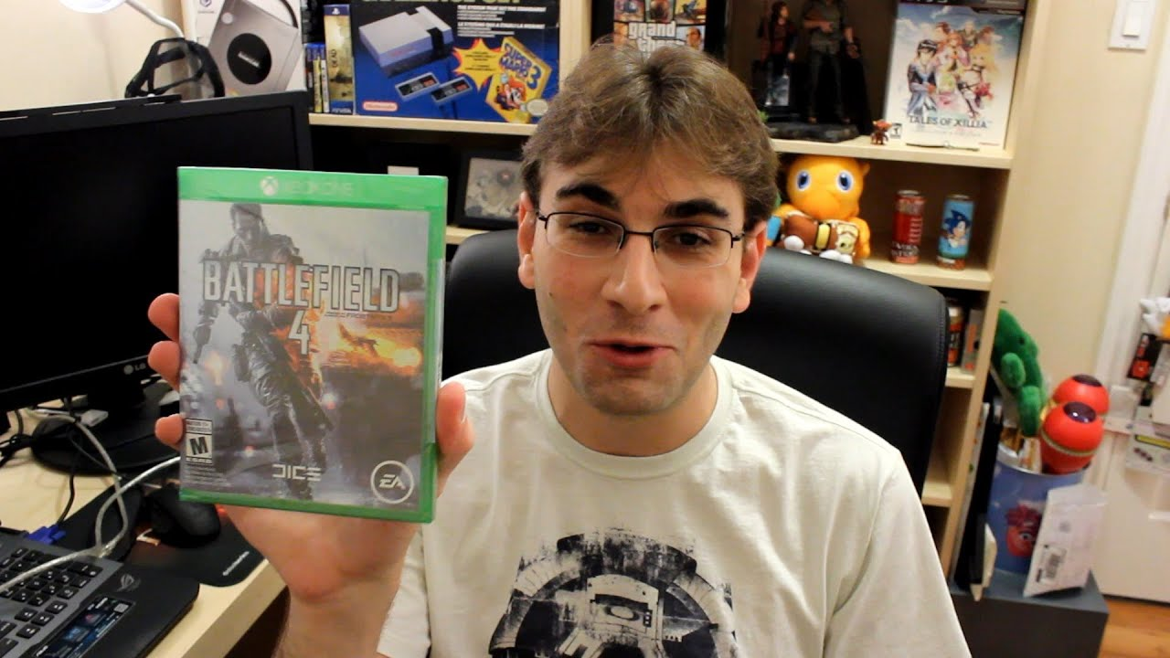 Xbox One Unboxing UNBOXING: BF4 de Xbox ...
