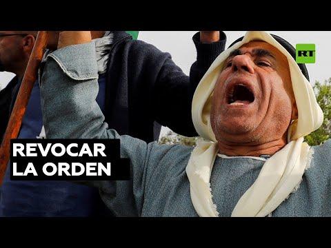Protestas En Jerusalén Contra La Orden Judicial Israelí De Desalojar A Familias Palestinas