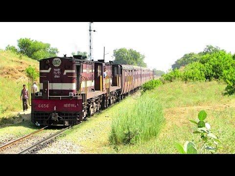YDM 4 Twins lead METRE GAUGE Intercity Express - Indian Railways