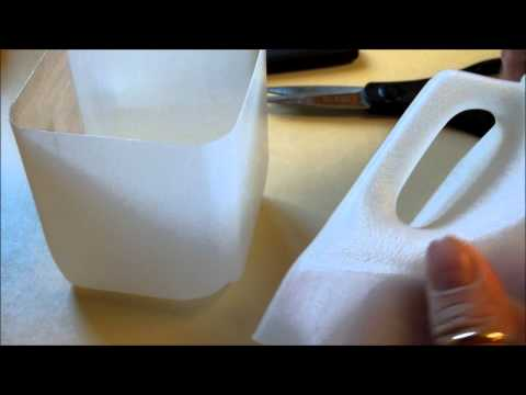 Milk container reuse