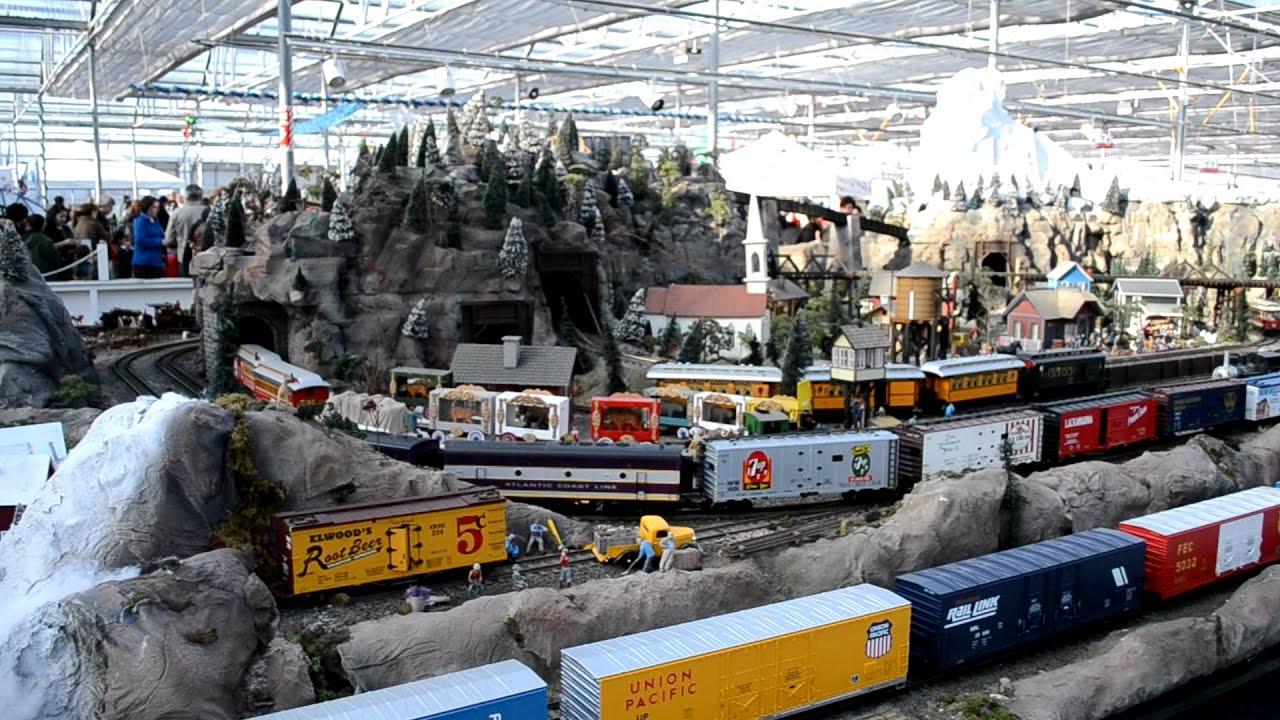 Model Railroad At The Garden Factory Rochester Ny Youtube