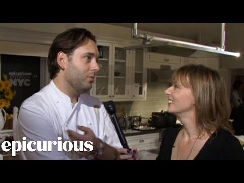 Epicurious Entertains NYC: A Sound Bite from Paul Liebrandt