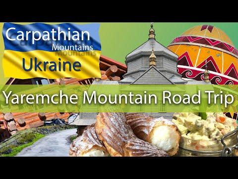 Carpathian Mountains Road Trip | Yaremche | Ukraine | Travel Guide