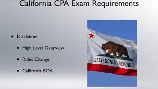 California CPA Exam Requirements