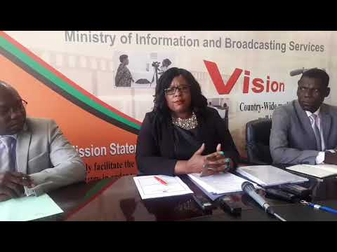 Press Briefing by Minister of Information Dora Siliya