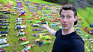 Lord Draconical has the World's Largest Nerf Gun Arsenal!!!