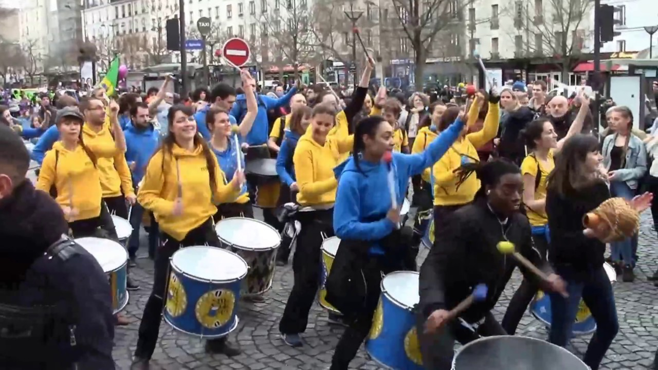 Carnaval de paris 2017 batucada mul ket youtube - Carnaval de paris 2017 ...