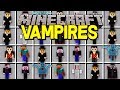 Minecraft VAMPIRE MOD! |BECOME A VAMPIRE, TURN INTO BATS, DRINK BLOOD, & MORE! | Modded Mini-Game