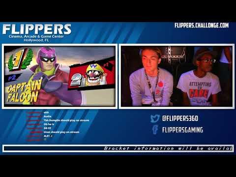 Flippers Weekly 8/12/17 - Winners Round 1 - Tikizay (Wario, Fox) vs. Dumplin (Falcon)