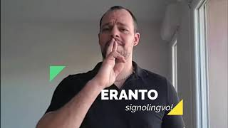 Esperanto estas mojosa! − en signolingvo