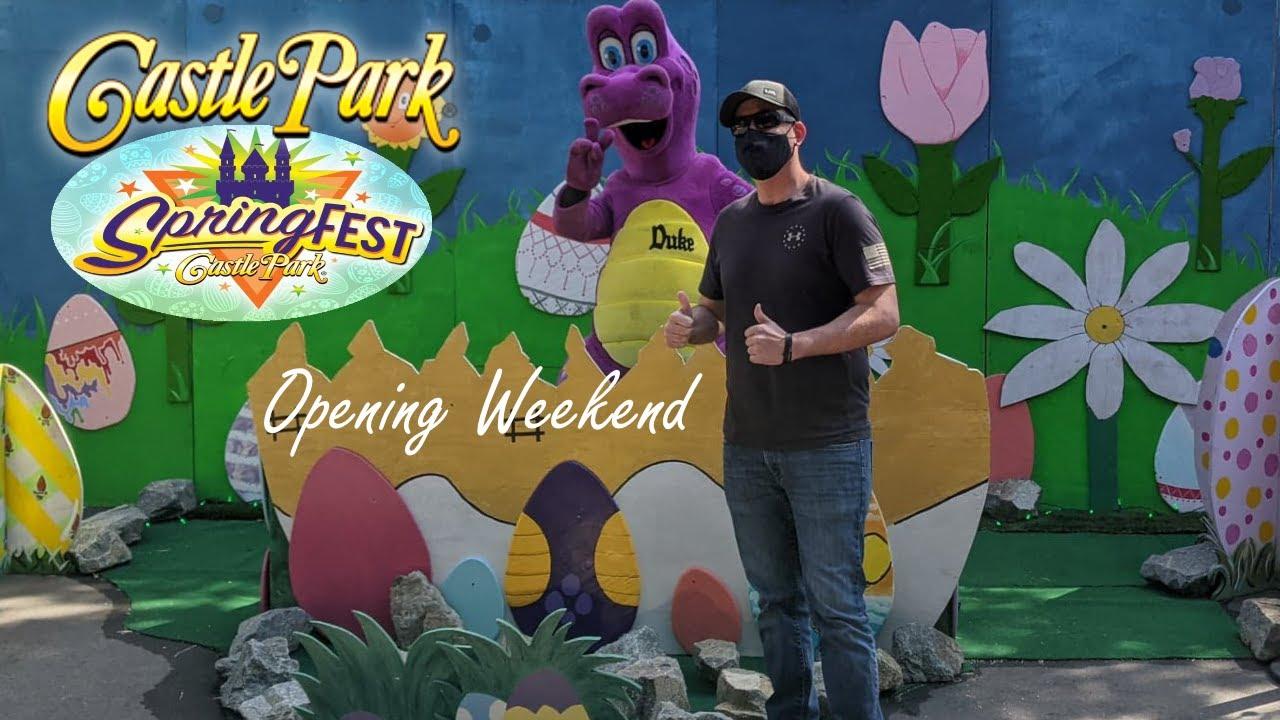 Castle Park Spring Fest Opening Weekend