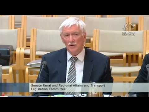 Senator Rice questions Infrastructure Australia on the East West tollway & roads funding