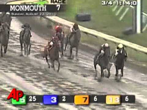Raw Video: Names Make For Hilarious Horse Race