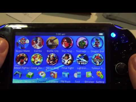 Fake PS Vita Handheld Gaming Device Rip Off Review