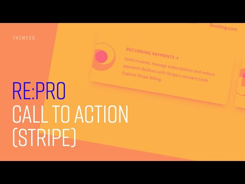Call to Action (Stripe) | re:PRO