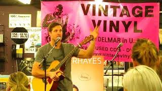WALKER HAYES -  SHUT UP KENNY - ACOUSTIC LIVE FROM VINTAGE VINYL ST LOUIS, MO 12/09/2017
