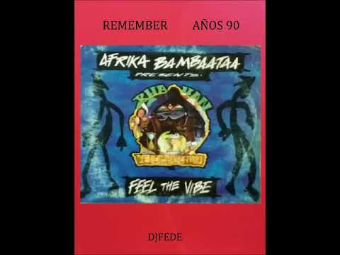 KHAYAN BY AFRICA BAMBAATAA - FEEL THE VIBE (EXTENDED CLUB MIX)