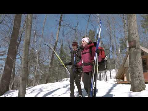 Cross-country Skiing In Gatineau Park
