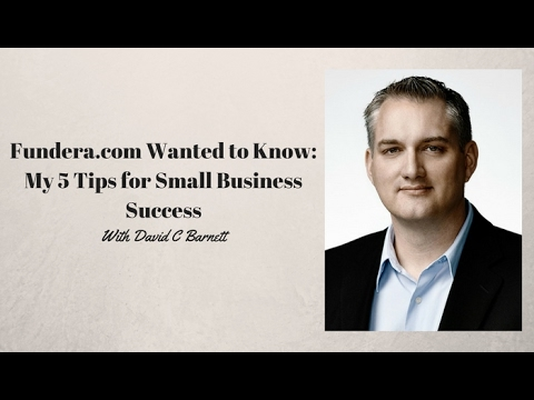 5 Tips for Small Business Success - How to Manage a Small Business