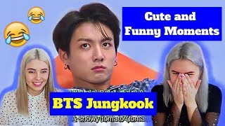 BTS Jungkook - Cute and Funny Moments REACTION (BTS REACTION)