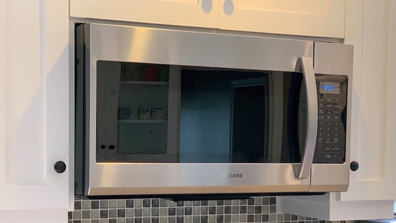 samsung over the range microwave review