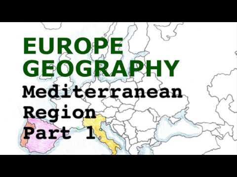 Europe Geography Song, Mediterranean Region Part 1