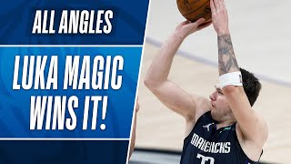 All-Angles: Luka's GAME-WINNER vs Boston!