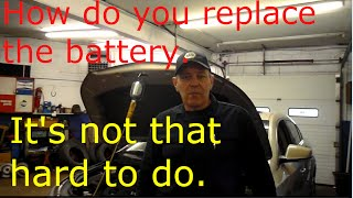 How to replace the battery on a 2010 Buick Lacrosse