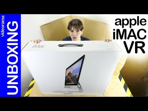 Apple iMac 4K unboxing -Apple quiere Realidad Virtual-