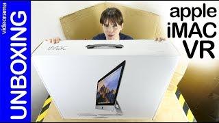 Apple iMac 4K unboxing -Apple quiere Realidad Virtual-