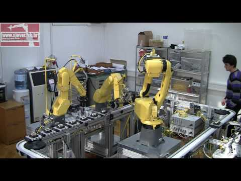 Multi Agent Robotic Assembly