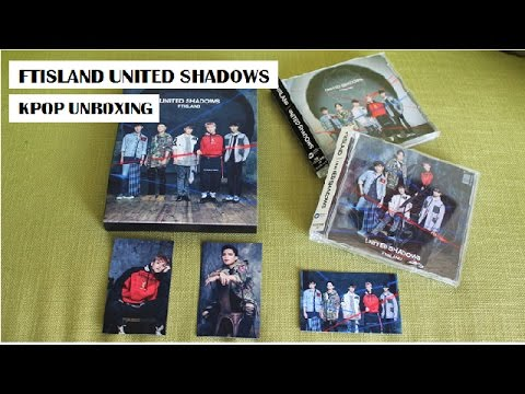 [Kpop Unboxing] FTISLAND United Shadows + Amazon.jp Review