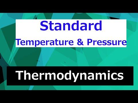 Standard Temperature & Pressure // Thermodynamics - Class 73