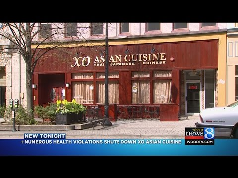 History Of Health Code Violations Shuts Down XO Asian Cuisine