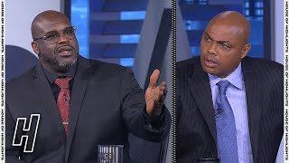 Shaq & Charles Barkley Get into Heated Argument - Inside the NBA | May 6, 2021