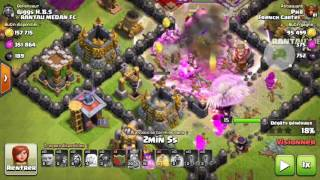 Technique d'attaque hdv8 hdv9 Clash Of Clans