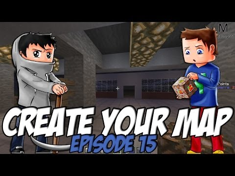 Create Your Map | Station Essence / Poissonerie | Episode 15 / Minecraft