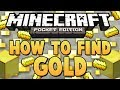 How to Find Gold for the Nether Reactor - Minecraft Pocket Edition