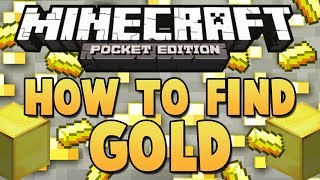 How to Find Gold for the Nether Reactor - Minecraft Pocket Edition (0.8.1)