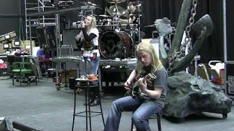 Nightwish training Romanticide for the world tour by VEEN waters