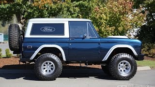Motorosity - 1976 Ford Bronco Test Drive