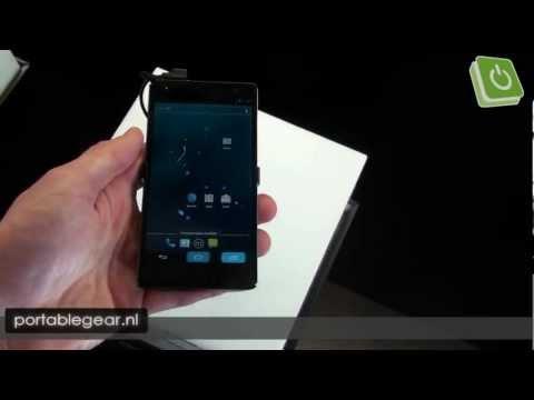 Panasonic Eluga Power hands-on @ MWC 2012