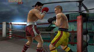 Rocky legends (PS2) All Super Triple Punches