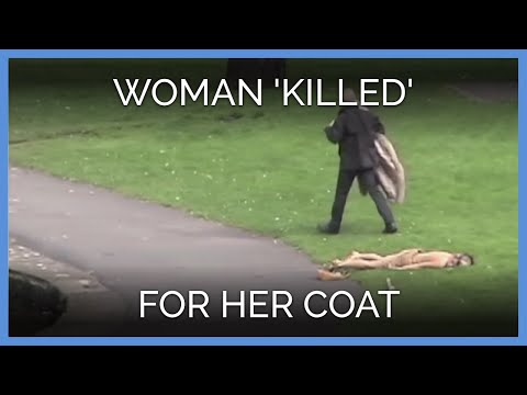 Woman 'Killed' for Her Coat