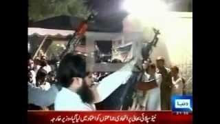 Firing in Abdul Qadir Gillani Jalsa in Multan by-election