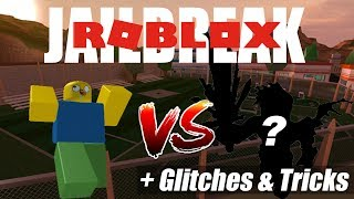 Roblox - Noob Vs Pro ( JAILBREAK ) + GLITCHES & TRICKS !!! GamingFizo_O