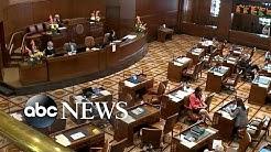 Oregon State Police called to bring Republican senators back for climate vote
