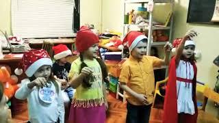 """""""Jingle Bells"""" возраст 6 - 7 лет, второй год обучения"""